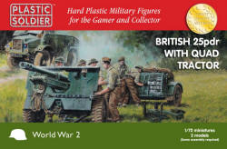 Photo of British 25pdr & Morris Quad Tractor - 20mm  (WW2G20006)