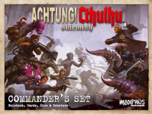 Photo of Achtung! Cthulhu Skirmish: Commanders Set  (MUH050479 )
