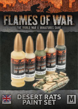 Photo of Desert Rats Paint Set (CWP131)