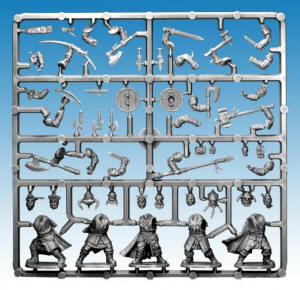 Photo of Frostgrave Barbarians-Single Frame (FGVP04a)