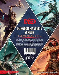 Photo of DM Screen: Elemental Evil (D&D73702 )