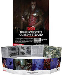 Photo of DM Screen: Curse of Strahd  (D&D73705 )