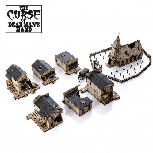 Photo of The Curse of Dead Man's Hand Building Collection (28S-DMH-S4 )