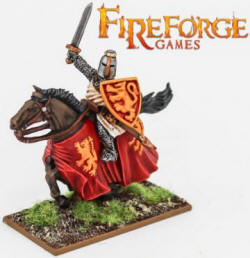 Photo of Noble on Barded Horse (Lion) (FFG101)