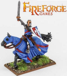 Photo of Noble on Barded Horse (Fluer-de-Lis) (FFG102 )