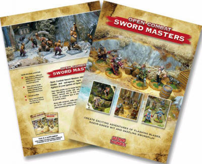 Photo of Open Combat Sword Masters Supplement (BP1585)